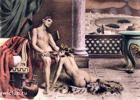 Оргии древних греков